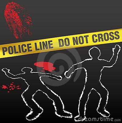 crime cene 555